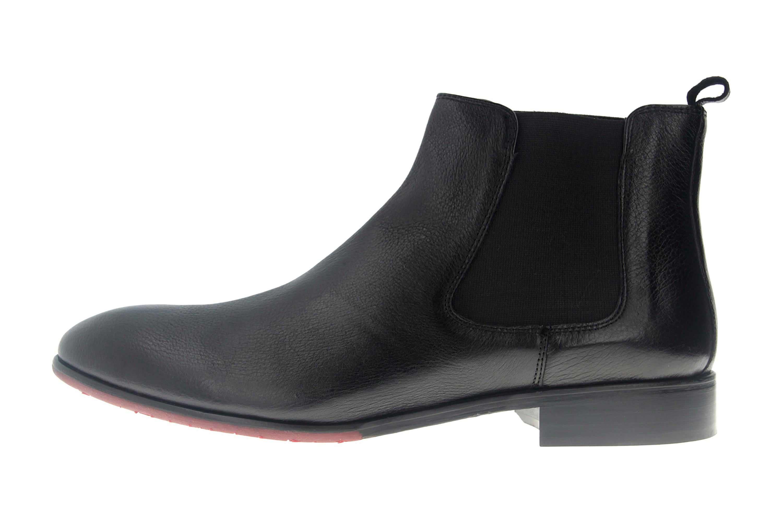 Manz Calabria AGO Business-Schuhe in Übergrößen Schwarz 147020-03-001 große Herrenschuhe – Bild 1