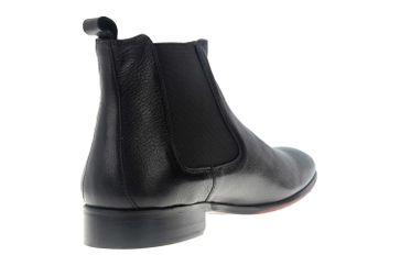 Manz Calabria AGO Business-Schuhe in Übergrößen Schwarz 147020-03-001 große Herrenschuhe – Bild 3