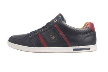 PANTOFOLA D'ORO Sneaker in Übergrößen Blau große Herrenschuhe  – Bild 1