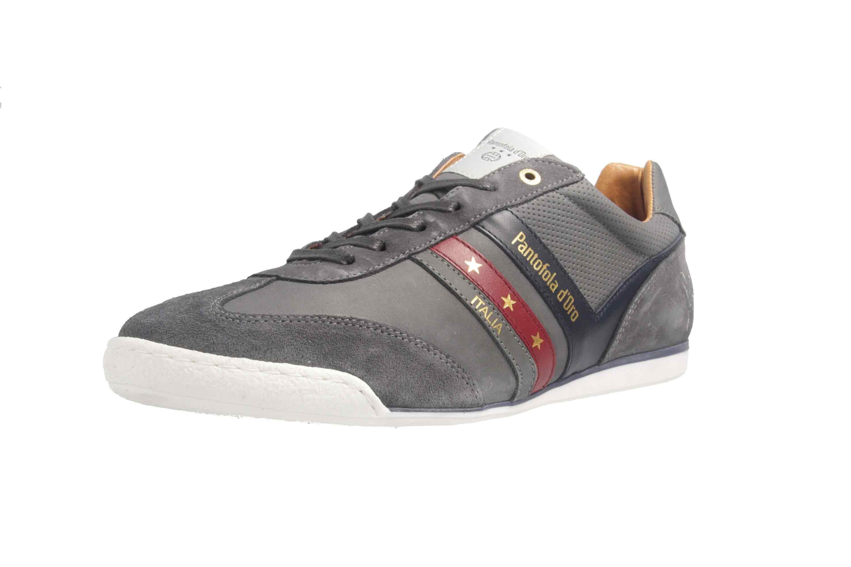PANTOFOLA D'ORO Sneaker in Übergrößen Grau große Herrenschuhe  – Bild 6