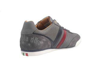 PANTOFOLA D'ORO Sneaker in Übergrößen Grau große Herrenschuhe  – Bild 3