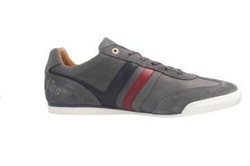 PANTOFOLA D'ORO Sneaker in Übergrößen Grau große Herrenschuhe – Bild 4