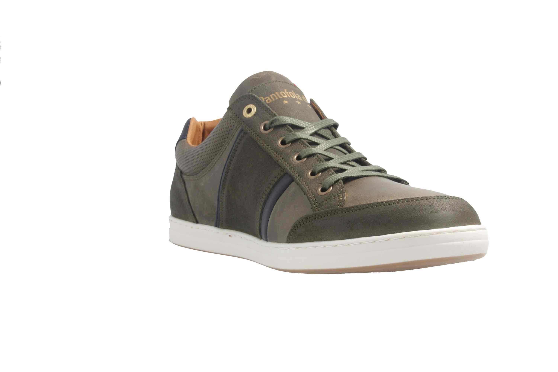 PANTOFOLA D'ORO Sneaker in Übergrößen Grün große Herrenschuhe – Bild 5