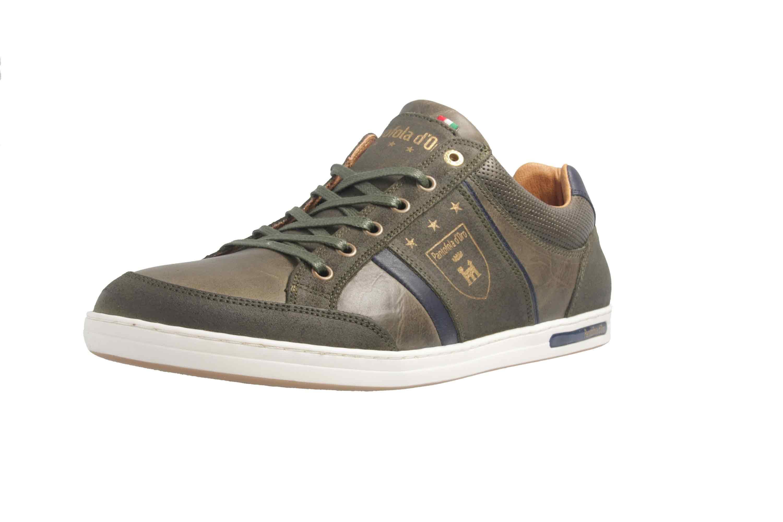 PANTOFOLA D'ORO Sneaker in Übergrößen Grün große Herrenschuhe – Bild 6