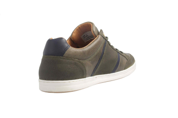 PANTOFOLA D'ORO Sneaker in Übergrößen Grün große Herrenschuhe – Bild 3