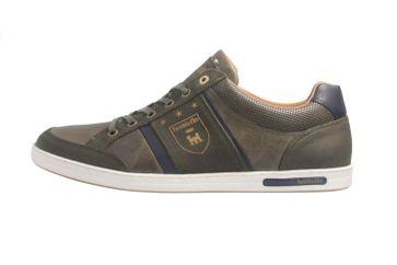 PANTOFOLA D'ORO Sneaker in Übergrößen Grün große Herrenschuhe – Bild 1