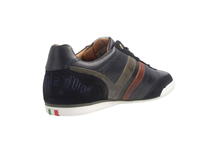 PANTOFOLA D'ORO Sneaker in Übergrößen Blau große Herrenschuhe – Bild 3
