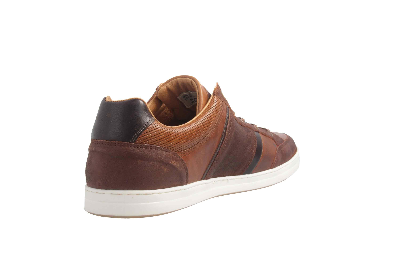PANTOFOLA D'ORO Sneaker in Übergrößen Braun große Herrenschuhe – Bild 3