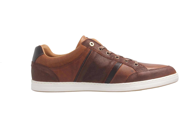 PANTOFOLA D'ORO Sneaker in Übergrößen Braun große Herrenschuhe – Bild 4