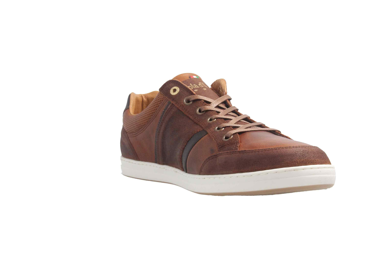 PANTOFOLA D'ORO Sneaker in Übergrößen Braun große Herrenschuhe  – Bild 5