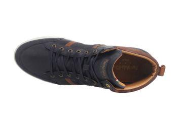 PANTOFOLA D'ORO Sneaker in Übergrößen Blau große Herrenschuhe  – Bild 7