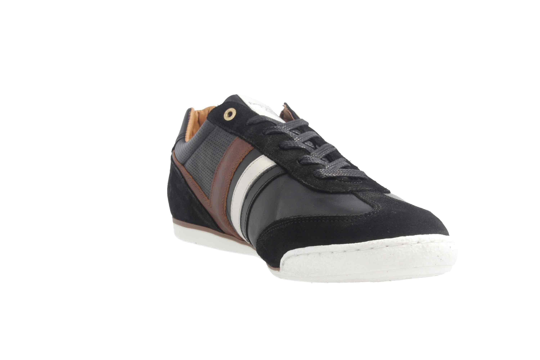 PANTOFOLA D'ORO Sneaker in Übergrößen Schwarz große Herrenschuhe – Bild 5