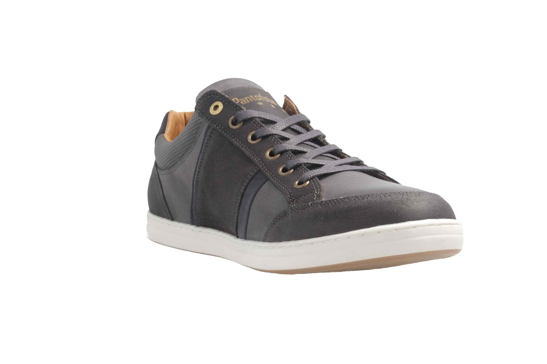PANTOFOLA D'ORO Sneaker in Übergrößen Grau große Herrenschuhe  – Bild 5