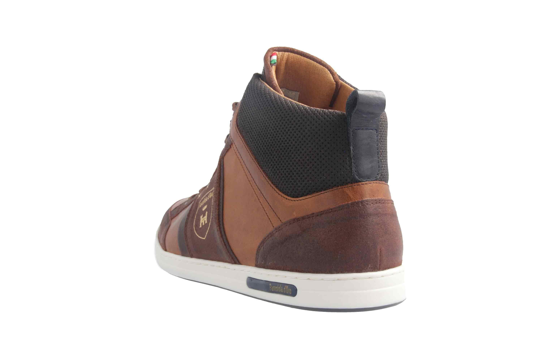 PANTOFOLA D'ORO Sneaker in Übergrößen Braun große Herrenschuhe – Bild 2