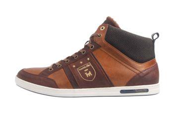 PANTOFOLA D'ORO Sneaker in Übergrößen Braun große Herrenschuhe  – Bild 1