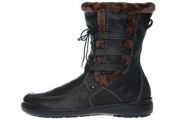 Jomos Freewalk Stiefel in Übergrößen Schwarz 806502 354 000 große Damenschuhe – Bild 1