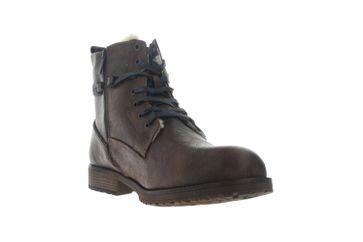 Mustang Shoes Boots in Übergrößen Braun 4119-602-360 große Herrenschuhe – Bild 5