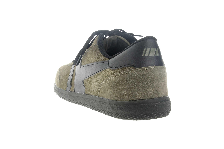 Boras Sneaker in Übergrößen Grün 3541-1527 große Herrenschuhe – Bild 2