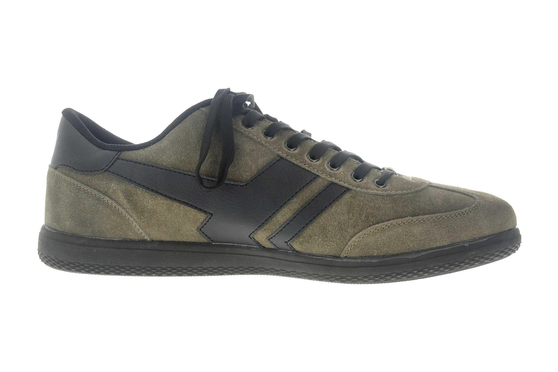 Boras Sneaker in Übergrößen Grün 3541-1527 große Herrenschuhe – Bild 4