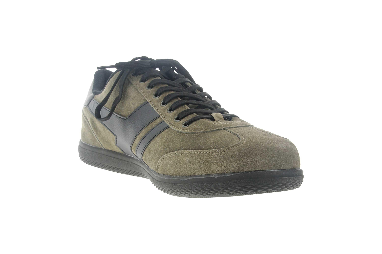 Boras Sneaker in Übergrößen Grün 3541-1527 große Herrenschuhe – Bild 5