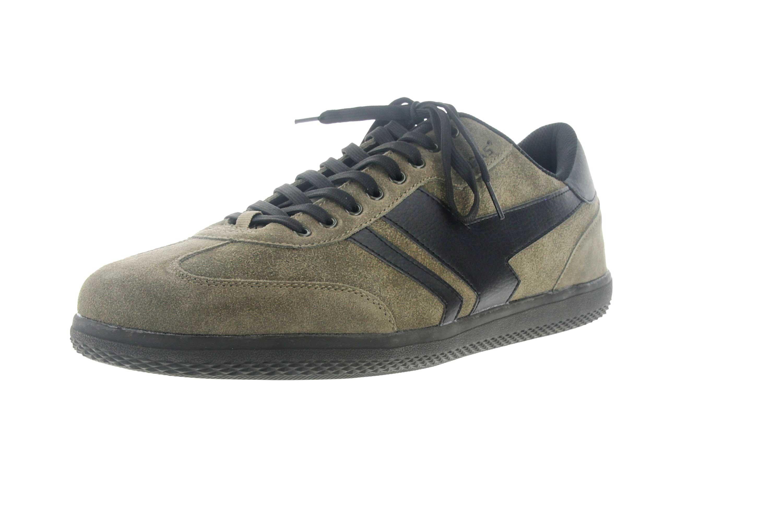 Boras Sneaker in Übergrößen Grün 3541-1527 große Herrenschuhe – Bild 6