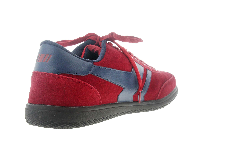 Boras Sneaker in Übergrößen Rot 3541 1528 große Herrenschuhe