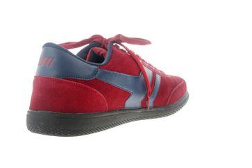 Boras Sneaker in Übergrößen Rot 3541-1528 große Herrenschuhe – Bild 3
