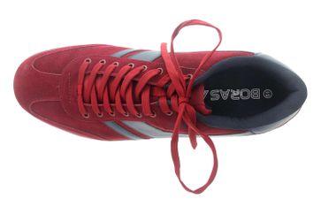 Boras Sneaker in Übergrößen Rot 3541-1528 große Herrenschuhe – Bild 7