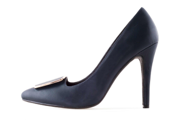 Andres Machado High Heels in Übergrößen Blau AM5319 SOFT MARINO große Damenschuhe – Bild 1
