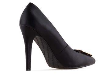 Andres Machado High Heels in Übergrößen Schwarz AM5319 SOFT NEGRO große Damenschuhe – Bild 2
