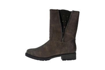 Boras Stiefel in Übergrößen Braun 3091-0407 große Damenschuhe – Bild 1