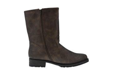 BORAS - Emilia Damen Stiefel 3091-0407 Camel - Braune Schuhe in Übergrößen – Bild 4