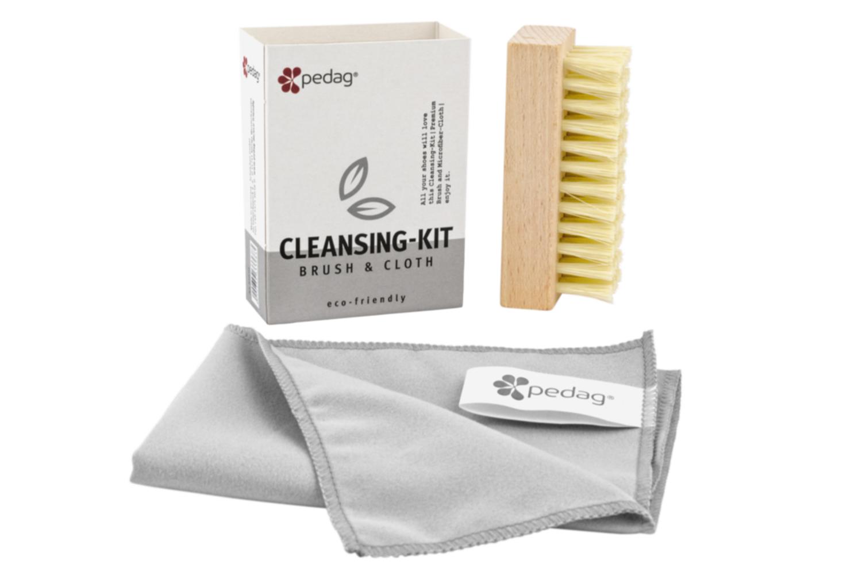 pedag - Cleansing Kit - Tuch und Bürste – Bild 1
