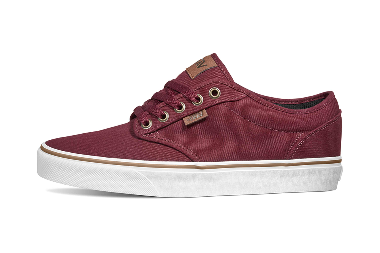 VANS MN Atwood (120Z C&L) Port Royale/WH Sneaker in Übergrößen Rot VN0A327LVEA große Herrenschuhe – Bild 1