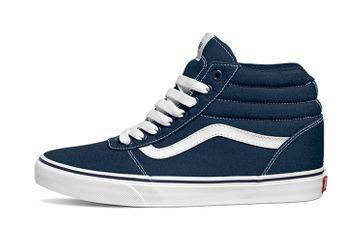 VANS MN Ward (Canvas) Dress Blues/White High Top Sneaker in Übergrößen Blau VN0A38DNJY3 große Herrenschuhe – Bild 1