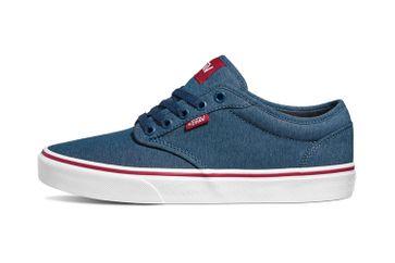 VANS MN Atwood (Varsity Textile) Sailor Sneaker in Übergrößen Blau VN0A45J9VEL große Herrenschuhe – Bild 1