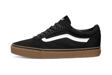 VANS MN Ward (Canvas) Black/gum Sneaker in Übergrößen Schwarz VN0A36EM7HI große Herrenschuhe – Bild 1