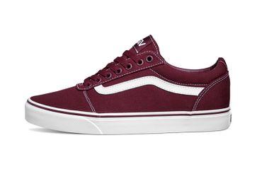 VANS MN Ward (Canvas) Port Royal/White Sneaker in Übergrößen Rot VN0A38DM8J7 große Herrenschuhe – Bild 1