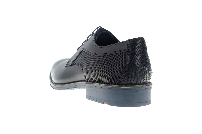 LLOYD GENF Business-Schuhe in Übergrößen Schwarz/Blau 19-059-11 große Herrenschuhe – Bild 2
