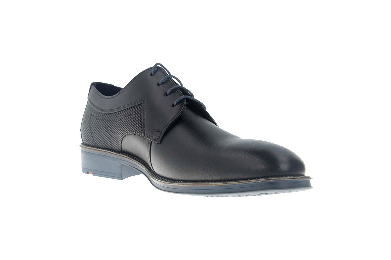 LLOYD GENF Business-Schuhe in Übergrößen Schwarz/Blau 19-059-11 große Herrenschuhe – Bild 5