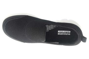 Skechers GO WALK EVOLUTION ULTRA REACH Sneakers in Übergrößen Schwarz 15730 BKW große Damenschuhe – Bild 7