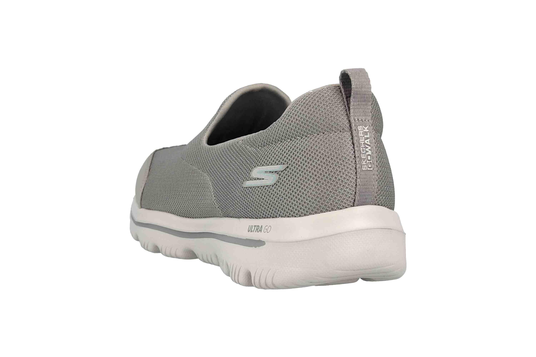 Skechers GO WALK EVOLUTION ULTRA REACH Sneakers in Übergrößen Grau 15730 GRY große Damenschuhe – Bild 2