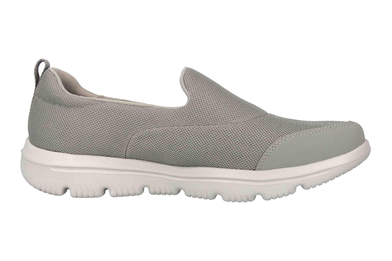 Skechers GO WALK EVOLUTION ULTRA REACH Sneakers in Übergrößen Grau 15730 GRY große Damenschuhe – Bild 4