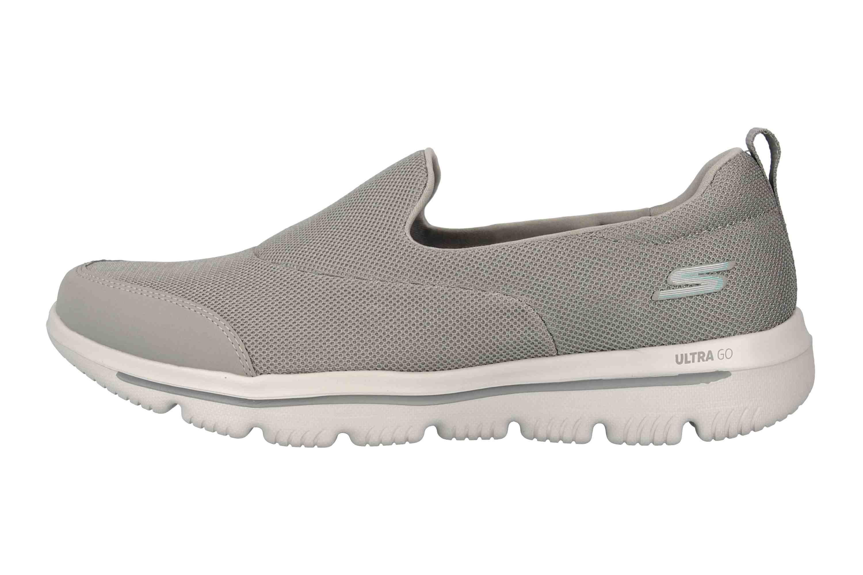 Skechers GO WALK EVOLUTION ULTRA REACH Sneakers in Übergrößen Grau 15730 GRY große Damenschuhe – Bild 1