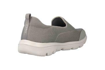 Skechers GO WALK EVOLUTION ULTRA REACH Sneakers in Übergrößen Grau 15730 GRY große Damenschuhe – Bild 3