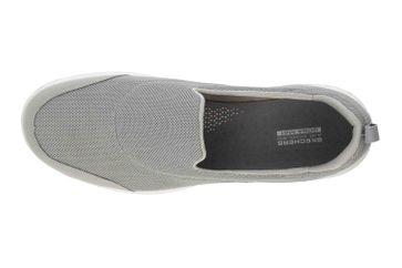 Skechers GO WALK EVOLUTION ULTRA REACH Sneakers in Übergrößen Grau 15730 GRY große Damenschuhe – Bild 7