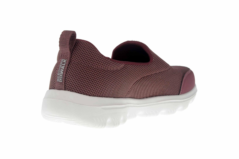 Skechers GO WALK EVOLUTION ULTRA REACH Sneakers in Übergrößen Rot 15730 MVE große Damenschuhe – Bild 3
