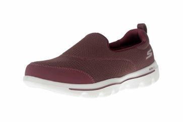 Skechers GO WALK EVOLUTION ULTRA REACH Sneakers in Übergrößen Rot 15730 MVE große Damenschuhe – Bild 6