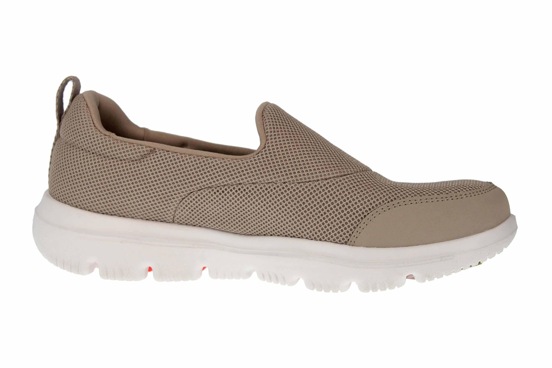 Skechers GO WALK EVOLUTION ULTRA REACH Sneakers in Übergrößen Grau 15730 TPE große Damenschuhe – Bild 4