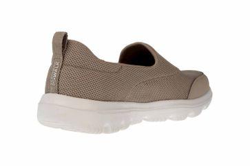 Skechers GO WALK EVOLUTION ULTRA REACH Sneakers in Übergrößen Grau 15730 TPE große Damenschuhe – Bild 3